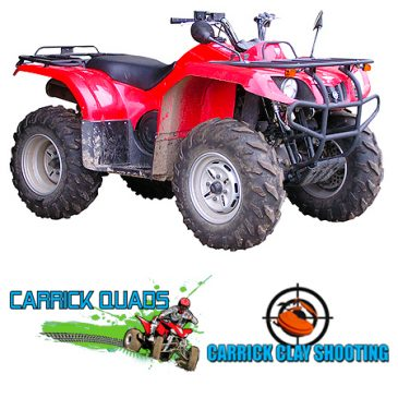 clay pigeon shooting quads biking ireland carrick quads